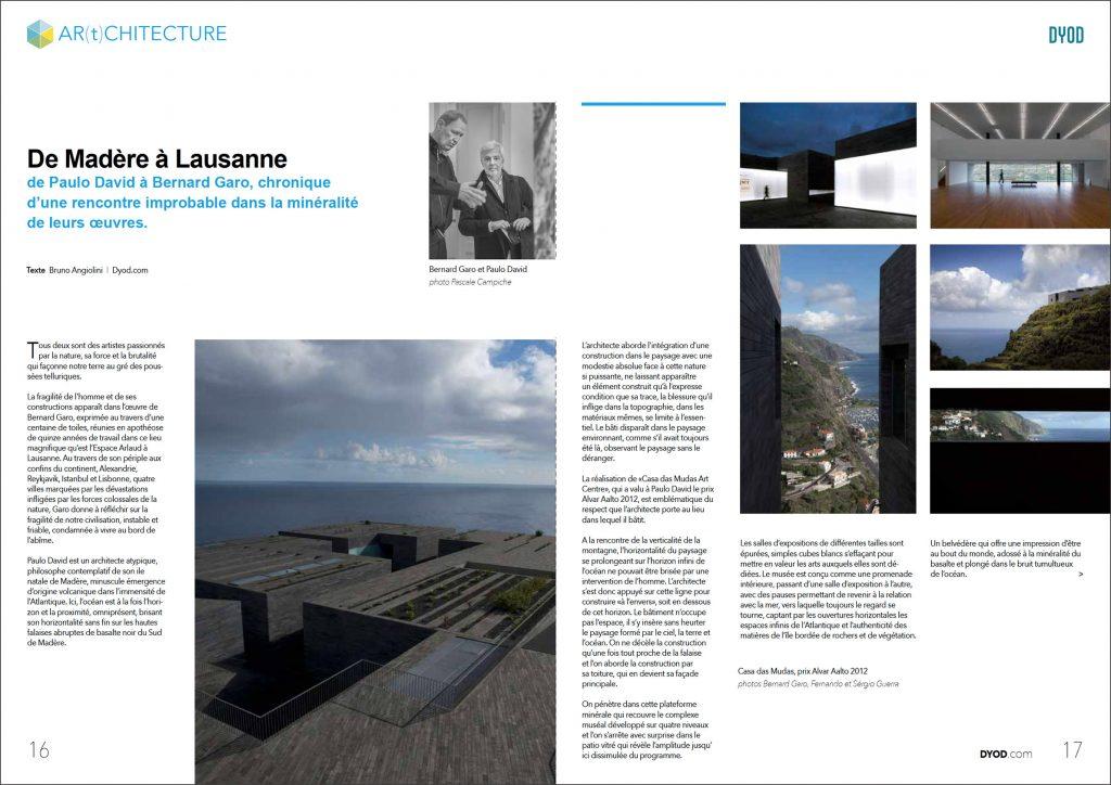 Reportage d'architecture à Lausanne