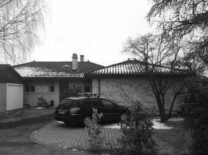 La villa avant la surélévation