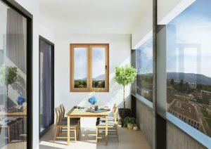 Appartement Contemporain avec balcon vitré à Carouge Genève - Promotion immobilière