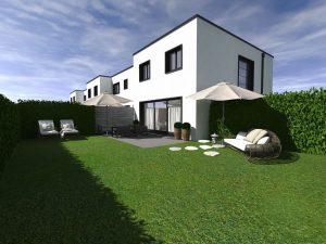 Construction d'une villa moderne en Suisse Romande