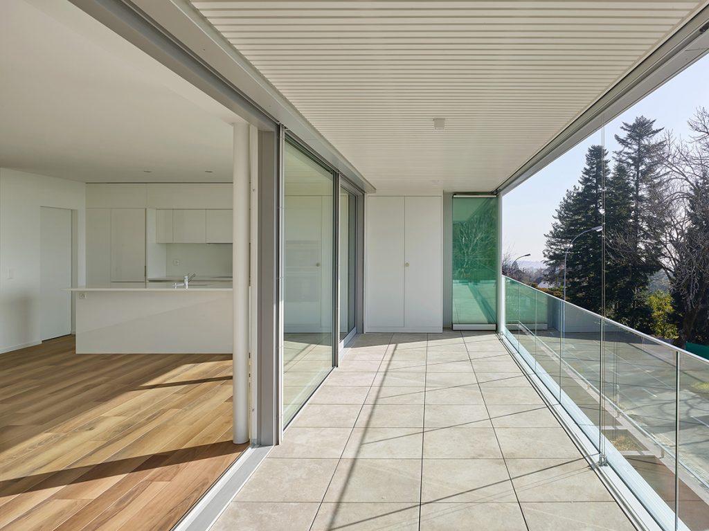 Location haut de gamme à l'architecture contemporaine