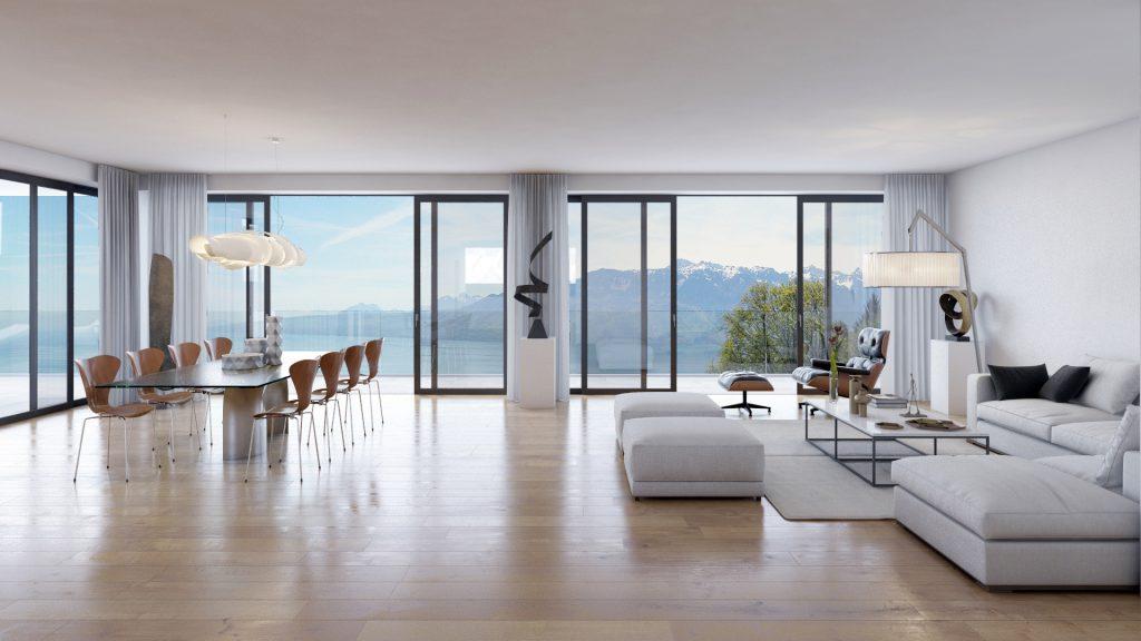 Appartement d'exception à Chexbres - Les Terrasses du Lavaux