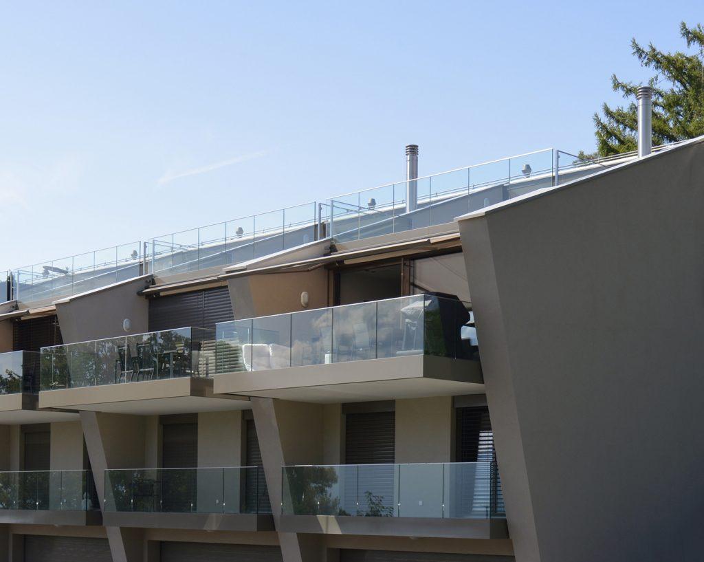 Villas contemporaines avec vue sur le lac léman et les Alpes - Architecture