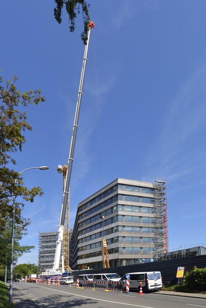 Construction Le trefle Campus santé Grand-Saconnex