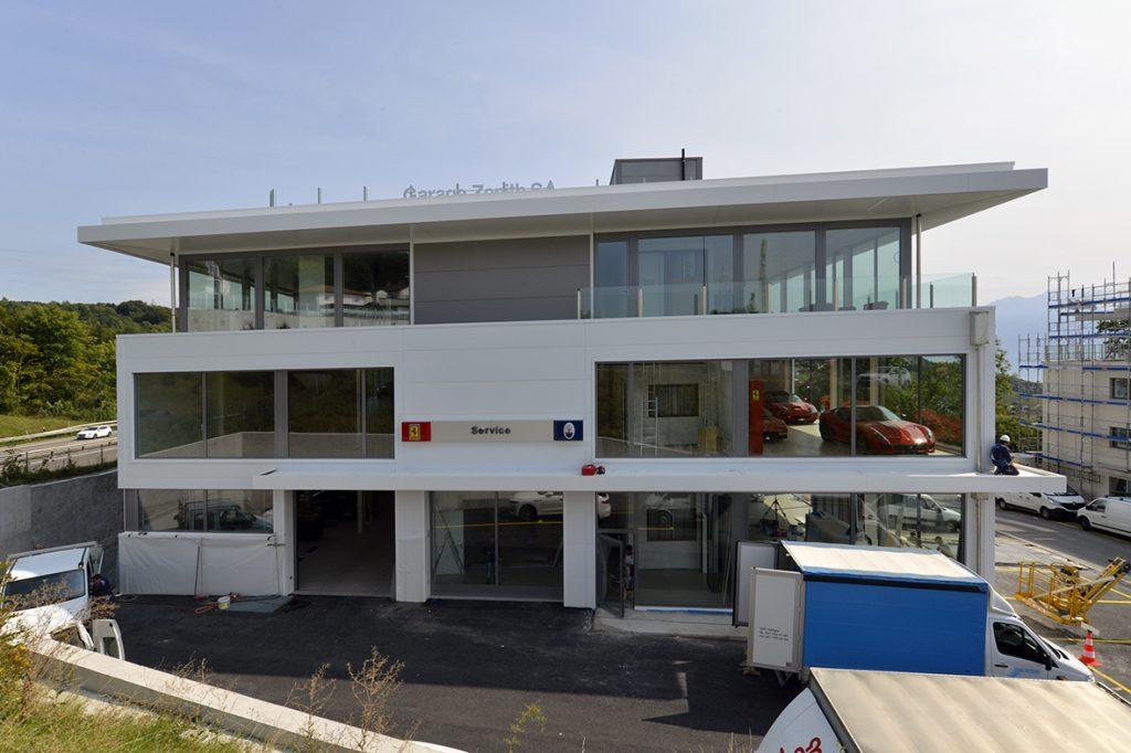 Magazine Architecture suisse
