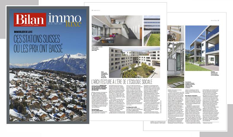 Magazine BILAN ImmoLuxe et DYOD