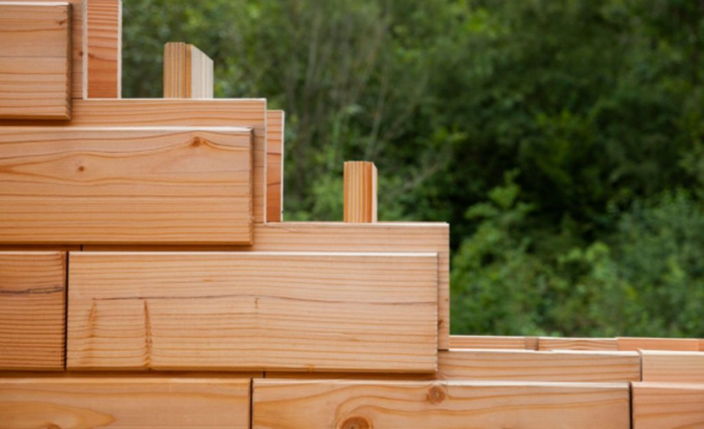 brique en bois assemblage