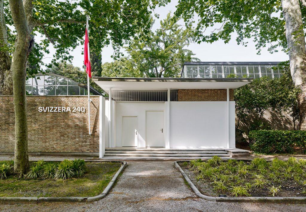 Biennale architecture Venise 2018 Pavillon suisse