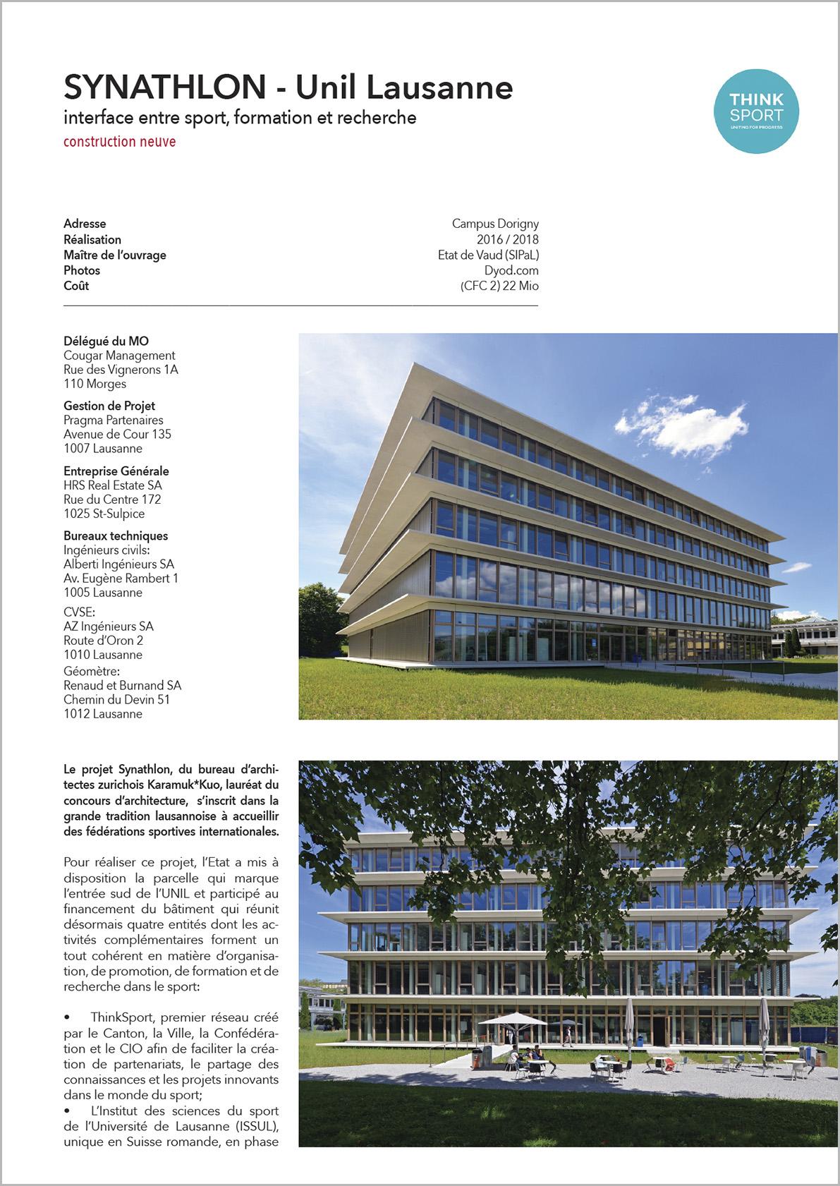 Unil-synathlon Lausanne