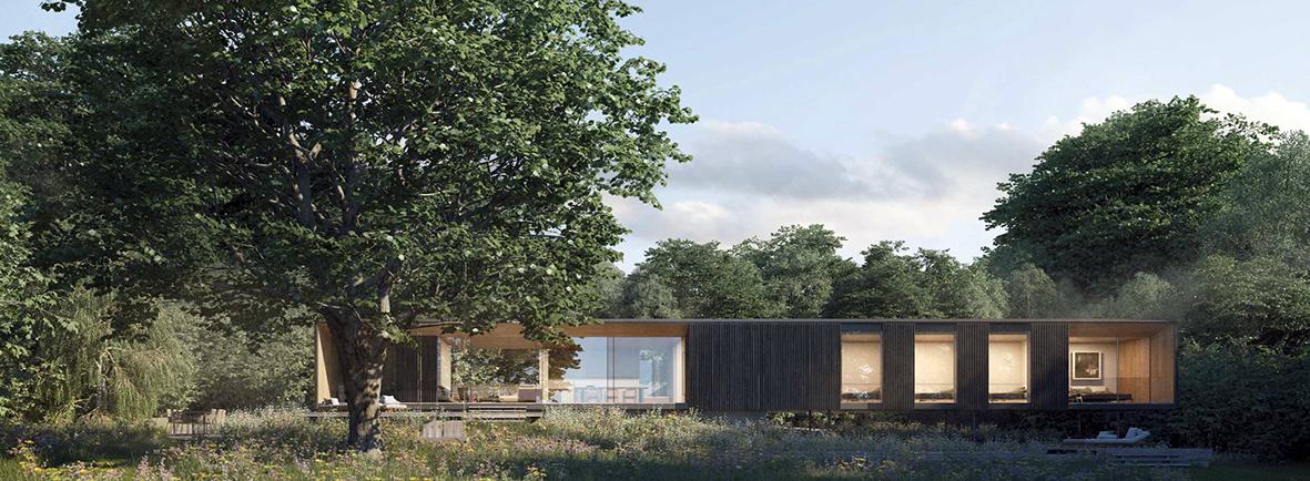 villa contemporaine maison bois
