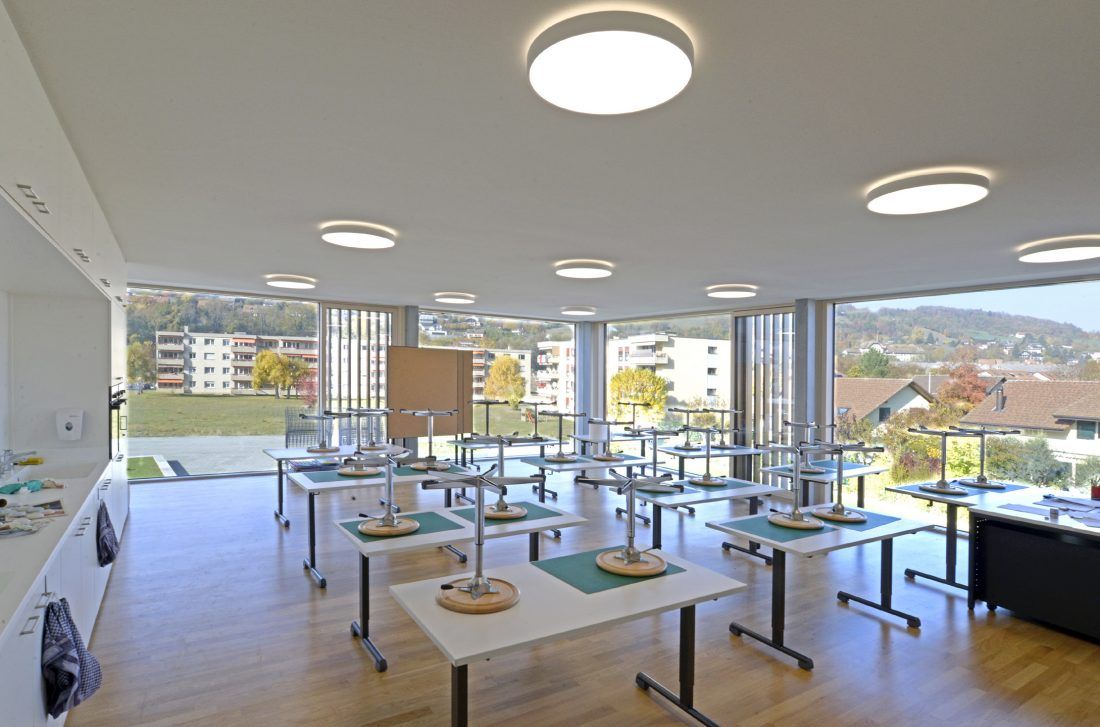 Classe Collège du Fey à Moudon