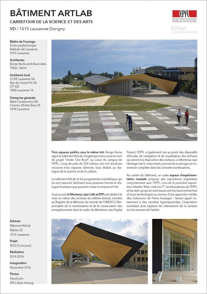 ArtLab EPFL Lausanne