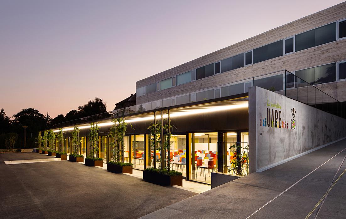 collège de Lonay Pressoirs Sennwald Architectes