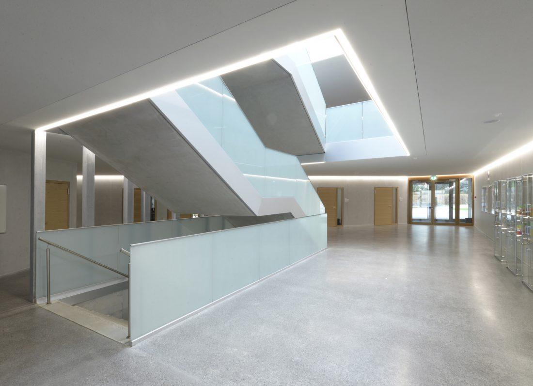 Escalier Collège du Fey à Moudon