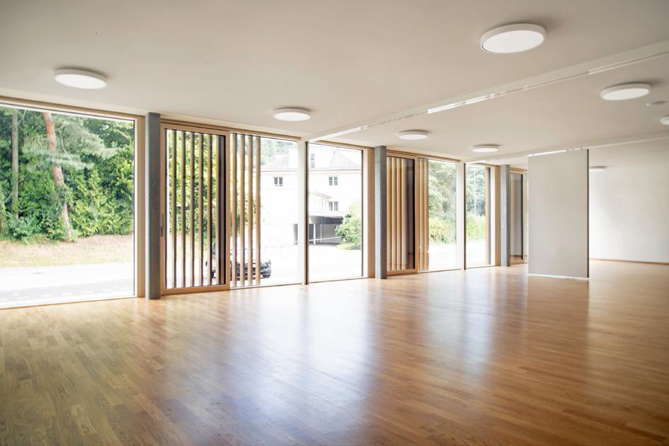 salle polyvalente Moudon Collège