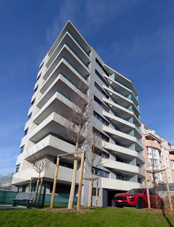 Architecture soignée pour n immeuble élégant