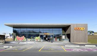 Coop construit un magasin durable à Etagnières (VD)
