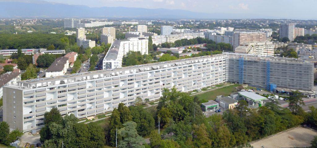 Rénovation emblématique de la Cité Nouvelle d'Onex