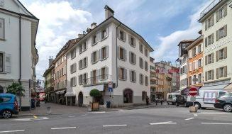 Rénovation d'un immeuble du 17e siècle à Vevey