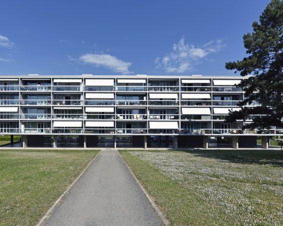 Immeuble rénové Meyrin Genève