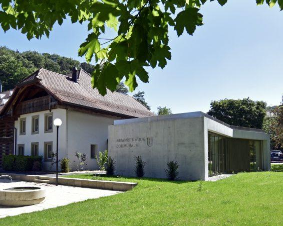 Henniez bâtiment communal salle polyvalente