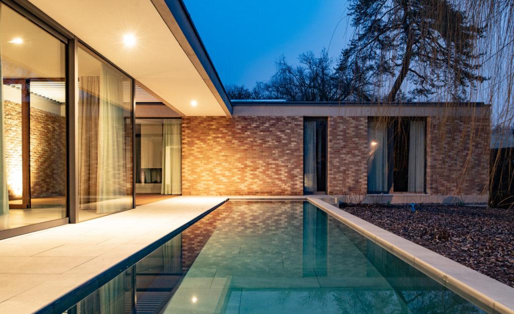 maison familiale de plain-pied à Conches Atelier Objectifs architectes