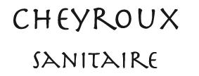 Logo Cheyroux sanitaire