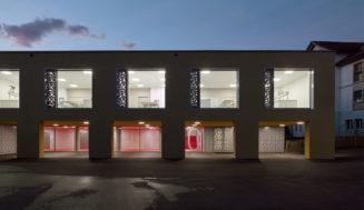 Nouveaux bâtiments scolaires à Saint-Blaise