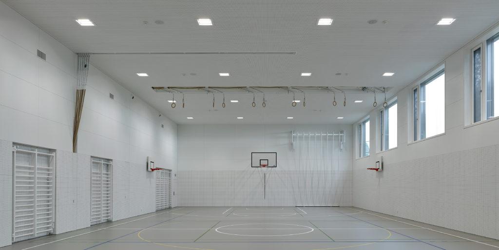 Collège de Vigner Saint-Blaise Patrick Minder Architectes Dolci Architectes Salle de Gymnastique