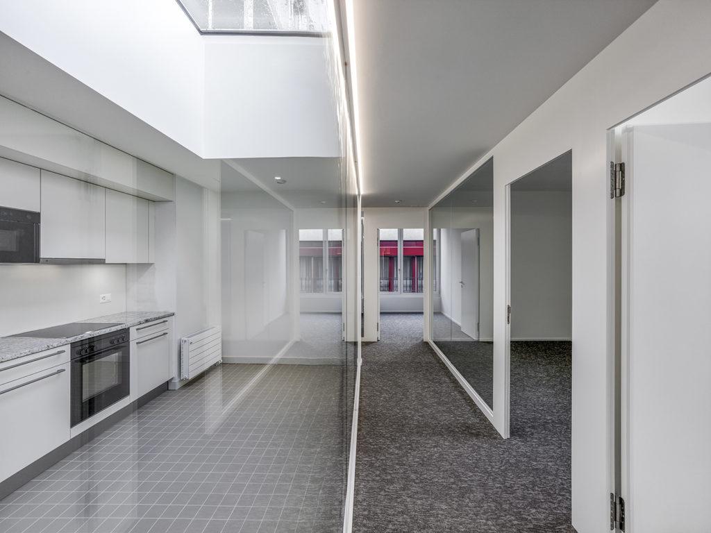 transformation immeuble années 30 farra zoumboulakis bureaux unia nyon