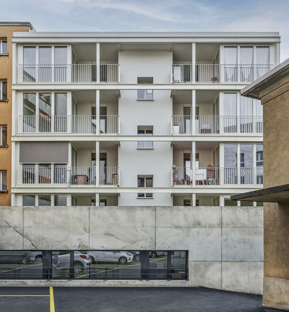 transformation immeuble années 30 farra zoumboulakis unia façade cour