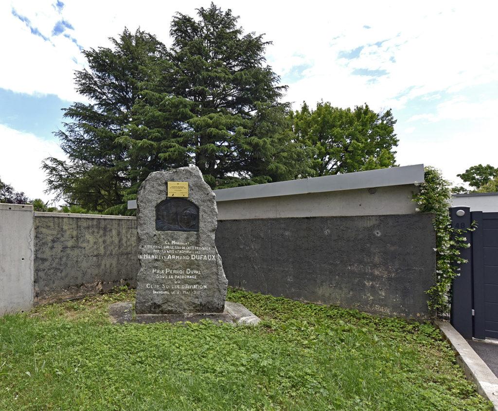 Stèle Armand Dufaux